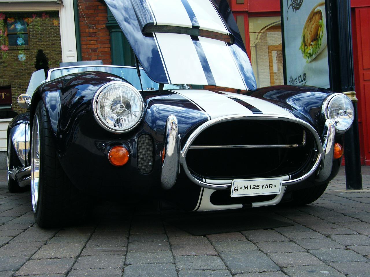 Cobra Car Classic Vintage Transportation