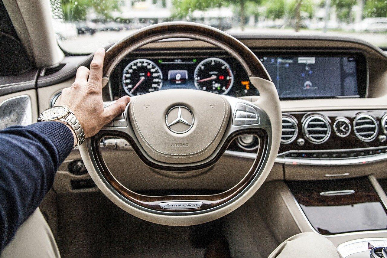 Steering Wheel Car Mercedes-Benz Drive Driving