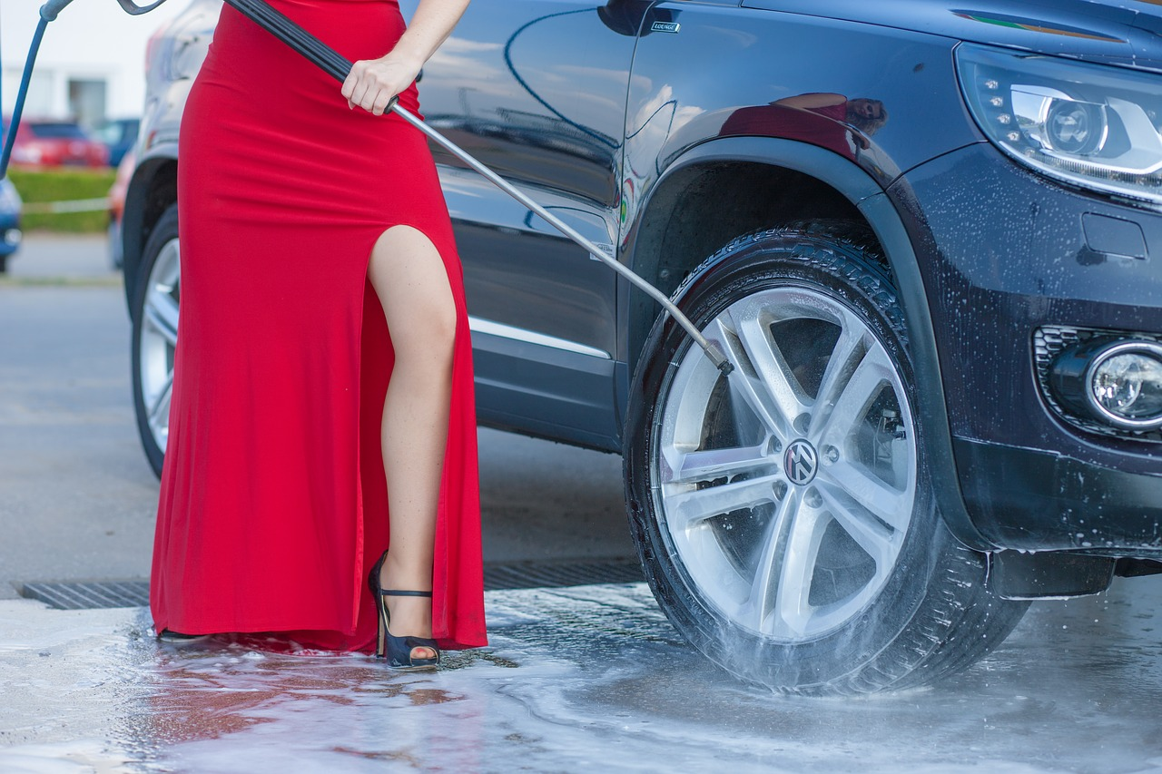 Auto Wash Clean Car Maintenance