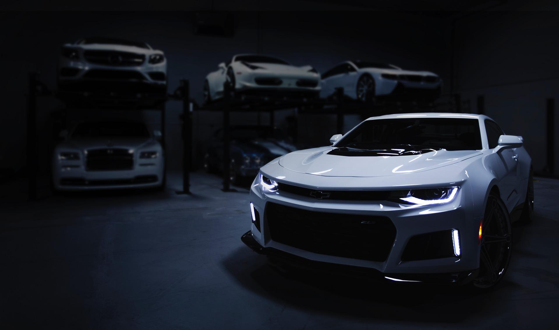 Car, Garage, Dark, Auto, Workshop, Maintenance, VehicleCar Garage Dark Auto Workshop Maintenance Vehicle